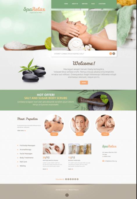 Mẫu website giới thiệu công ty, doanh nghiệp