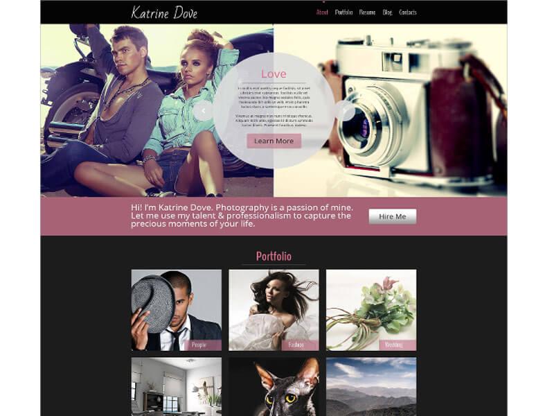 Nhu cầu thiết kế website nhiếp ảnh, studio, chụp ảnh cưới tăng mạnh