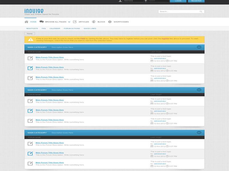 Ưu điểm mẫu website forum, diễn đàn của Mona Media