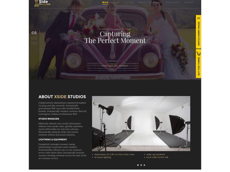 Module liên hệ website chụp ảnh cưới, studio