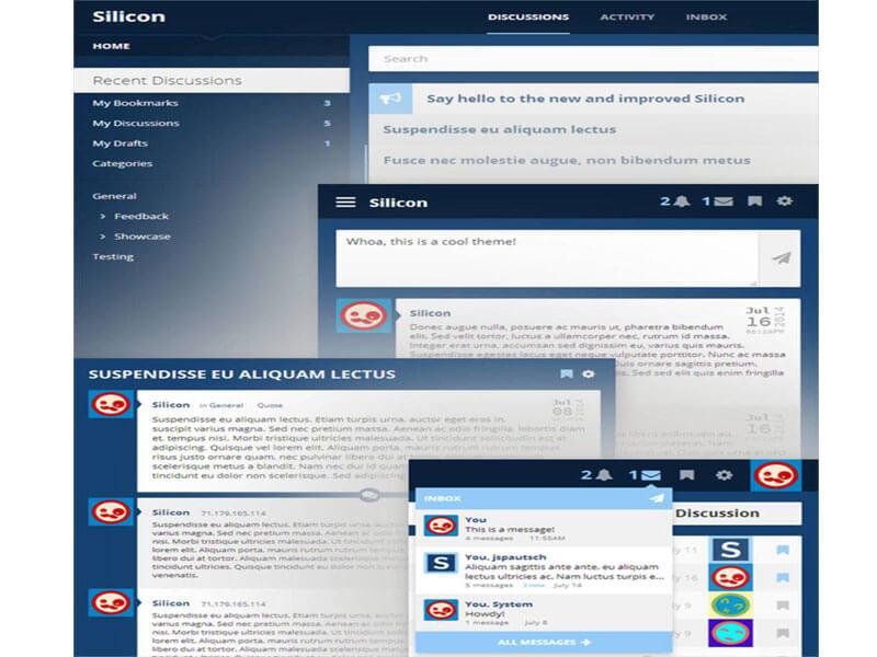 Thiết kế website diễn đàn, forum chuẩn responsive
