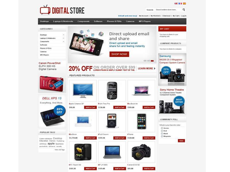 Thiết kế website bán hàng kỹ thuật số - mô hình kinh doanh chuyên nghiệp