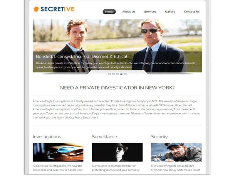 Vì sao nên thiết kế website thám tử, bảo vệ, an ninh?