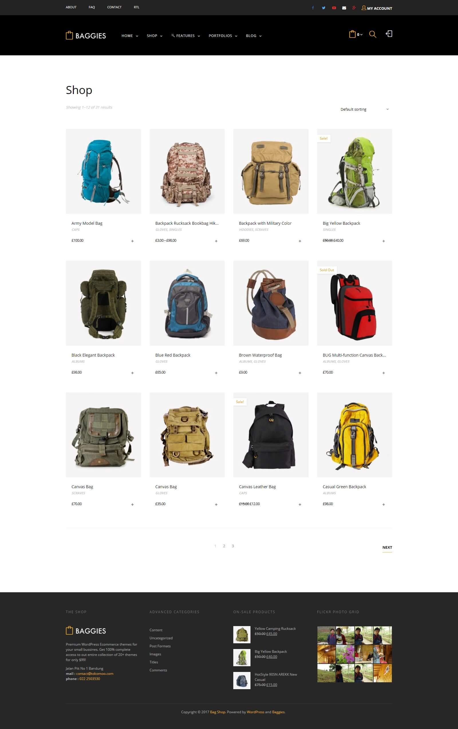 Lợi ích của việc thiết kế website bán hàng balo thời trang