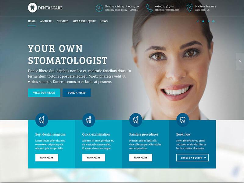 Lợi ích của việc thiết kế website nha khoa