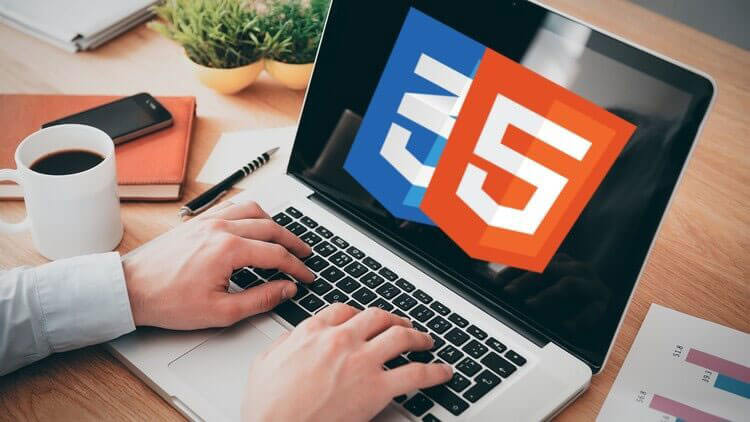 Sử dụng công nghệ html5 và css3