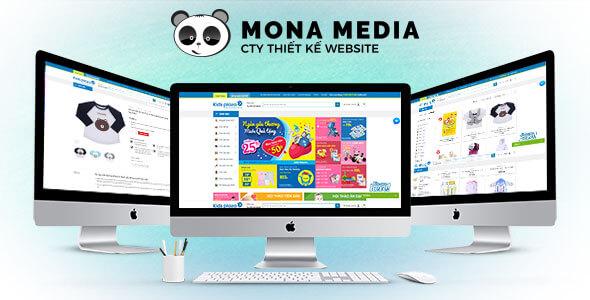 Mẫu website shop mẹ và bé | Thiết kế website shop mẹ và bé