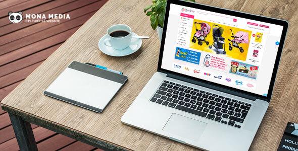 Mẫu website giới thiệu cửa hàng | Thiết kế website giới thiệu cửa hàng