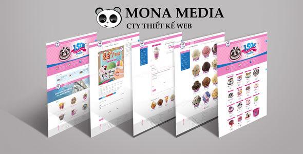 Mẫu website bán bánh kẹo | Thiết kế website bán bánh kẹo