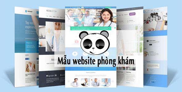 Mẫu website phòng khám