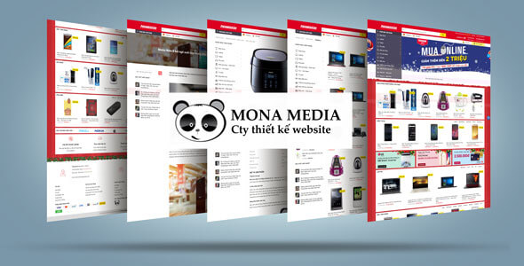 Mẫu website bán hàng linh kiện vi tính | Thiết kế website bán hàng linh kiện vi tính