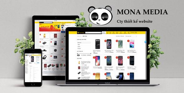 Mẫu website bán điện thoại | Thiết kế website bán điện thoại