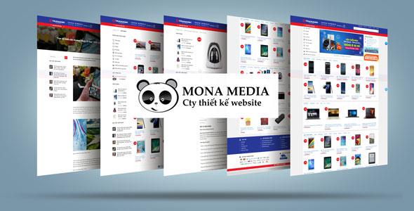 Mẫu website bán máy tính | Thiết kế website bán máy tính
