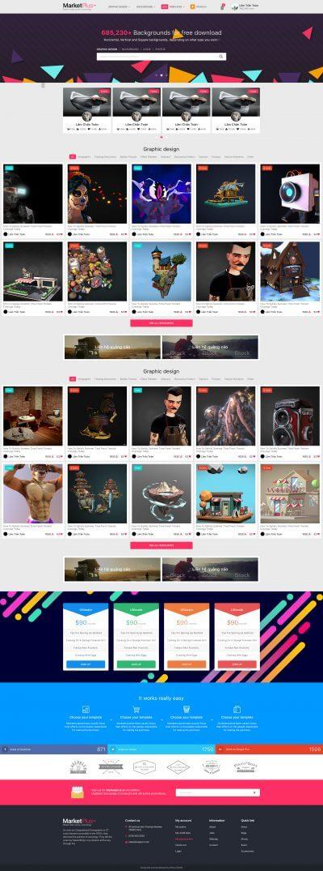 MarketPlus - Chợ bán thiết kế của cộng đồng designer