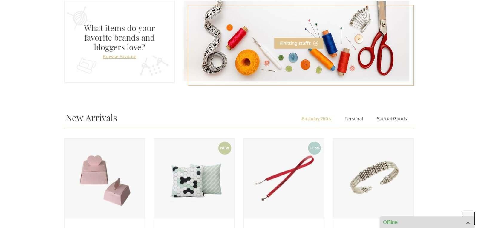 Thiết kế website bán hàng handmade - cách làm mới