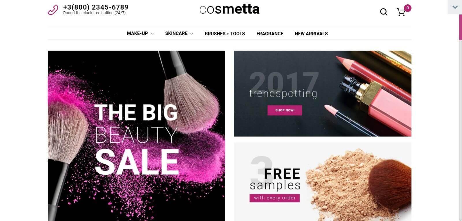 Lợi ích của việc thiết kế website bán hàng mỹ phẩm