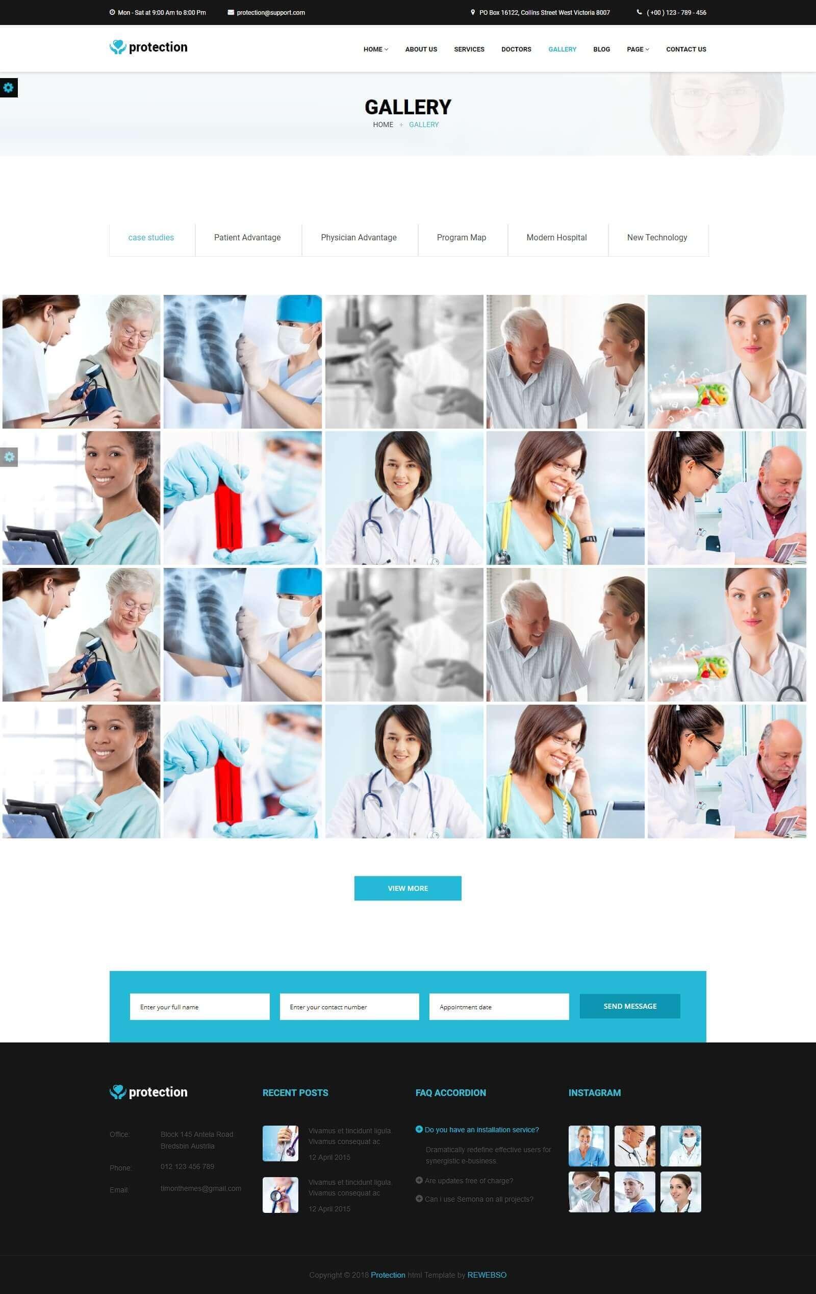 Module giới thiệu bệnh viện