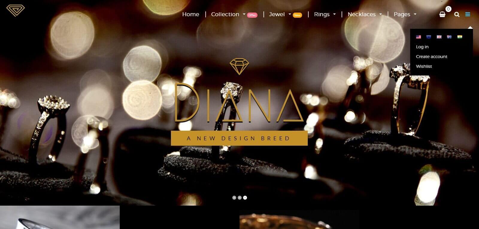 Thiết kế website bán nhẫn mở rộng quy mô kinh doanh