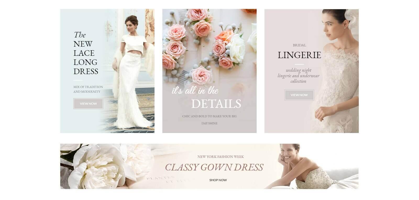 Vì sao cần thiết kế website cho thuê áo cưới