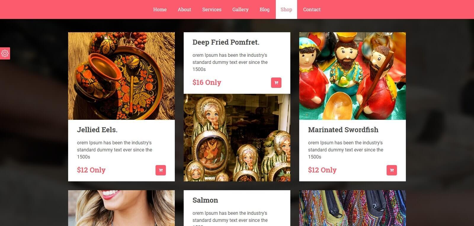 Thiết kế website bán hàng thủ công mỹ nghệ, bước đầu chuyển hướng kinh doanh online