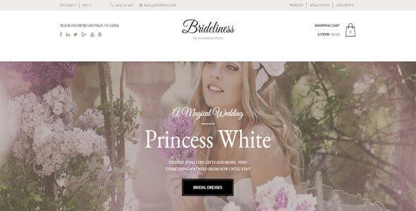 Mẫu website cho thuê áo cưới | Thiết kế website cho thuê áo cưới