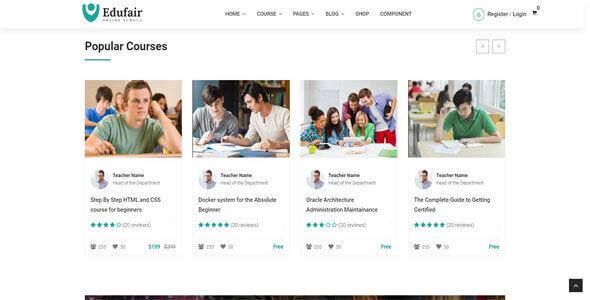 Mẫu website trường học | Thiết kế website trường học