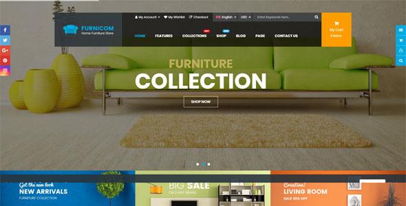 Mẫu website bán hàng nội thất | Thiết kế website bán hàng nội thất