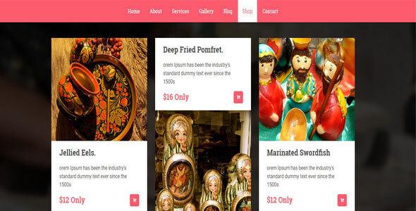 Mẫu website bán hàng thủ công mỹ nghệ | Thiết kế web bán hàng thủ công mỹ nghệ