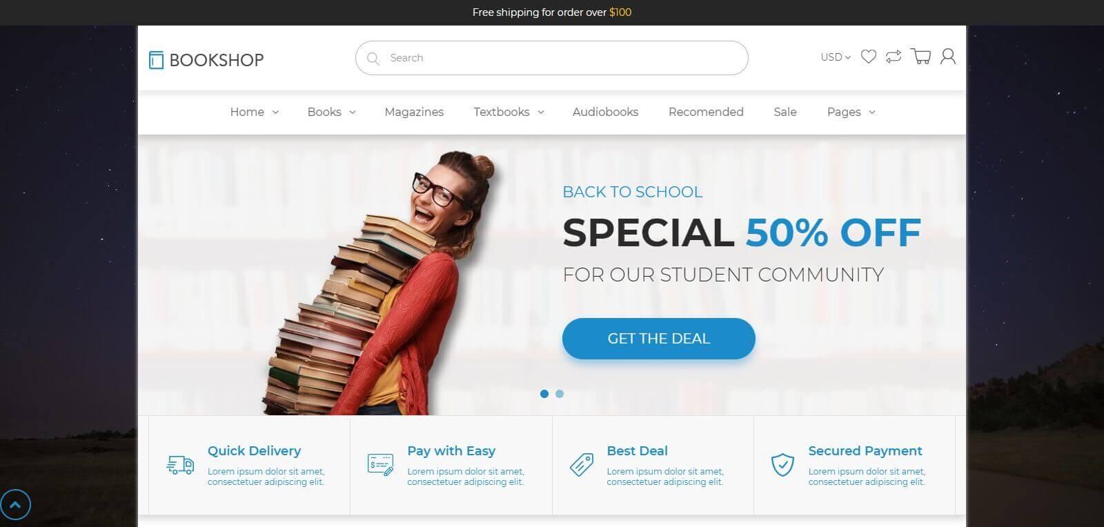 Lợi ích của việc thiết kế website bán sách