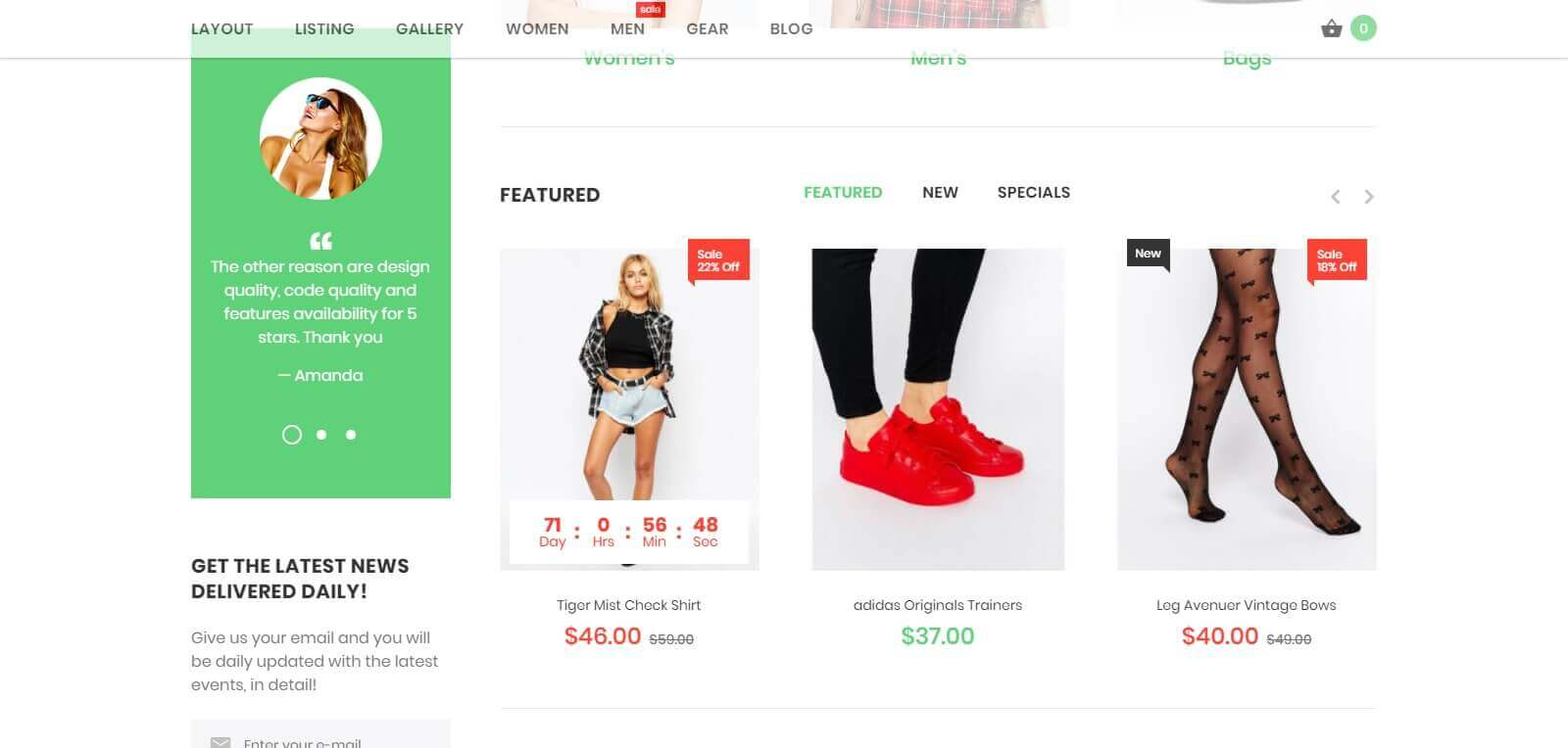 Thiết kế website bán giày dép phục vụ kinh doanh online