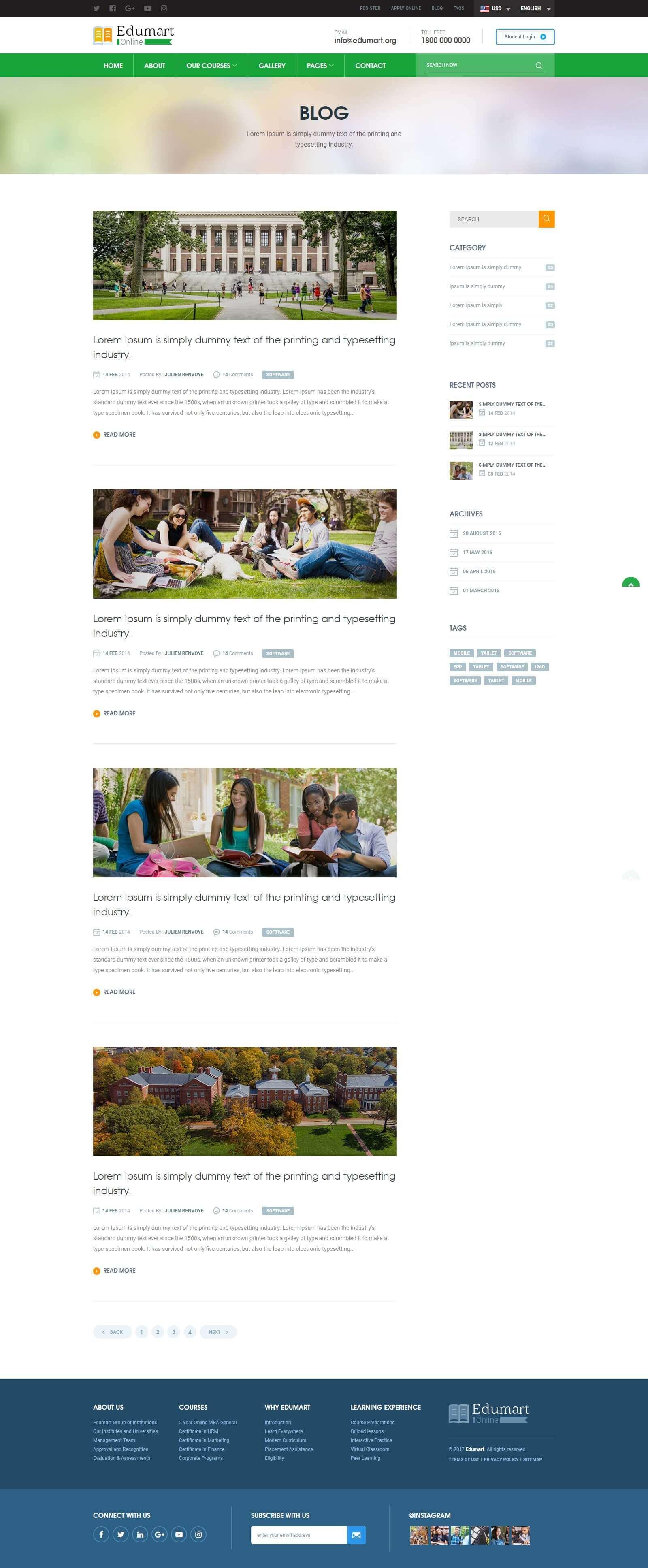 Lợi ích khi thiết kế website tư vấn du học tại Mona Media