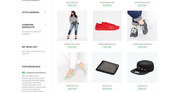 Mẫu website bán giày dép | Thiết kế website bán giày dép