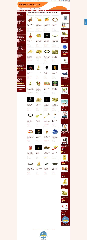 Mẫu website bán hàng phong thủy ấn tượng, chuyên nghiệp, chuẩn seo