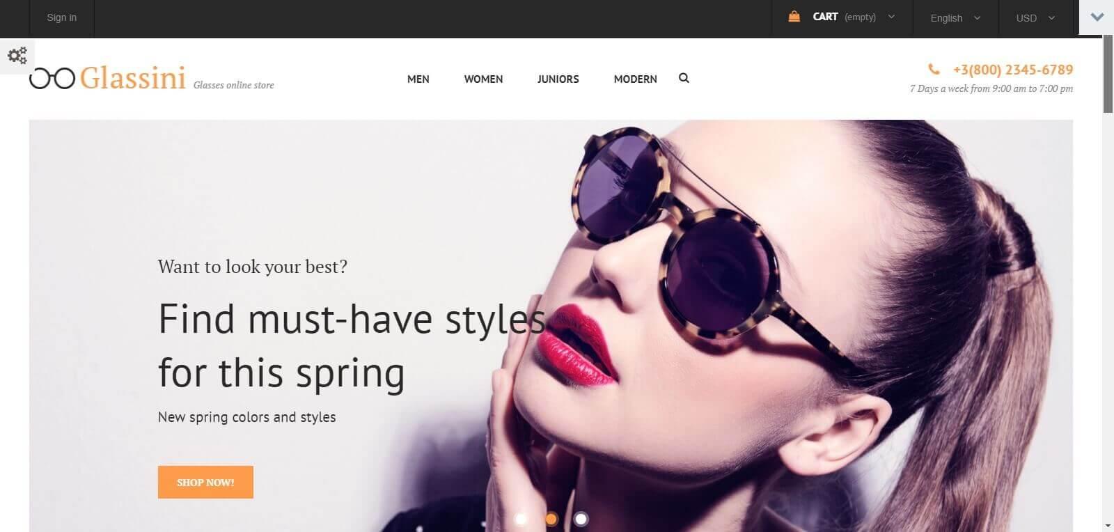 Vì sao cần thiết kế website bán mắt kính