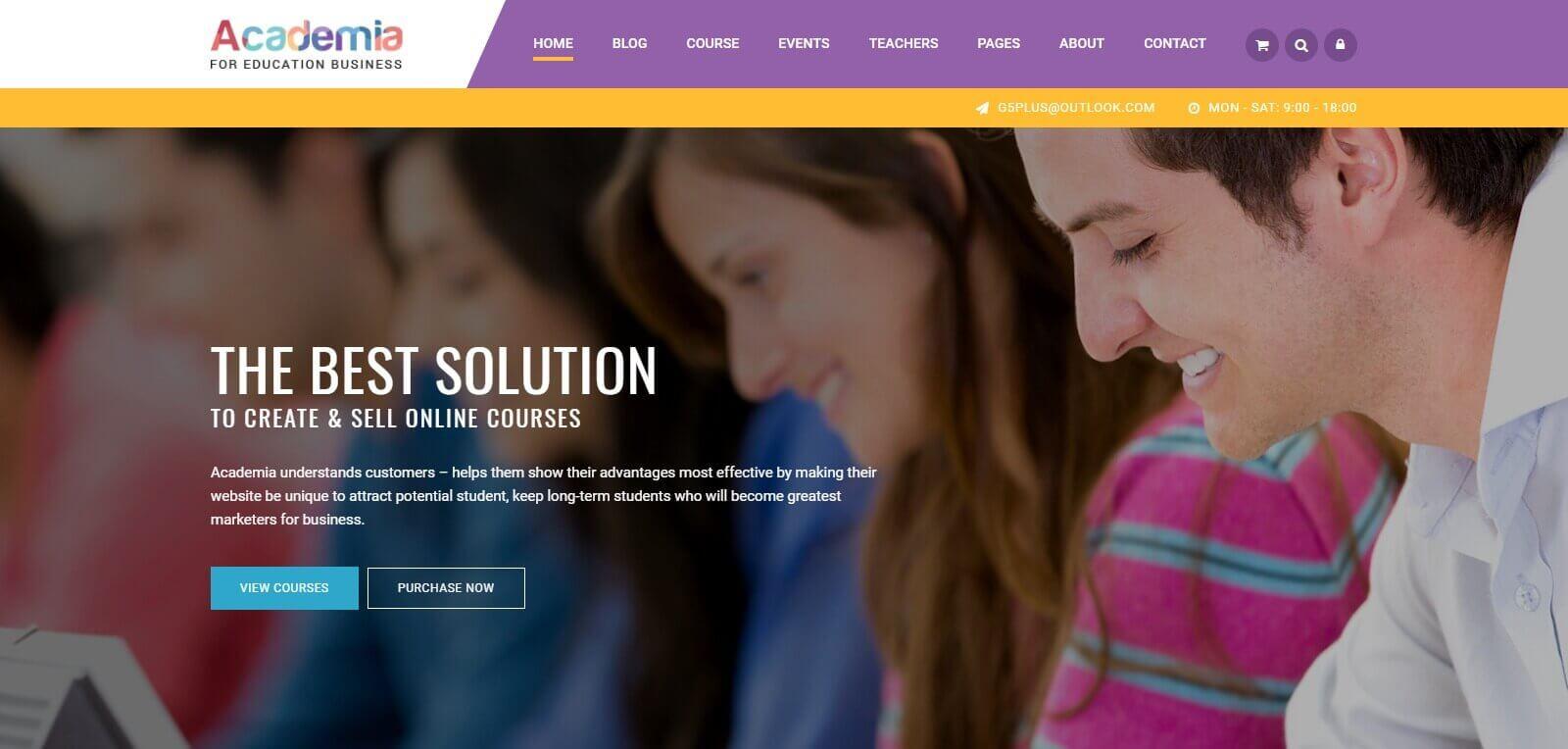 Vì sao cần thiết kế website trung tâm Anh Văn