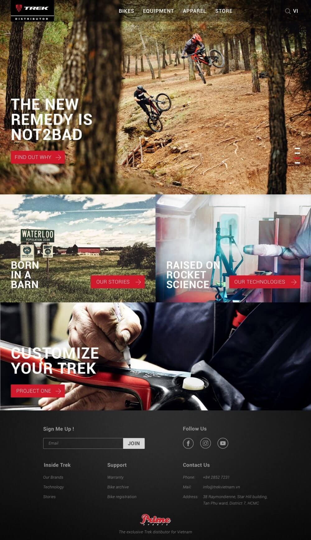 Trek – Thương hiệu xe đạp hàng đầu thế giới