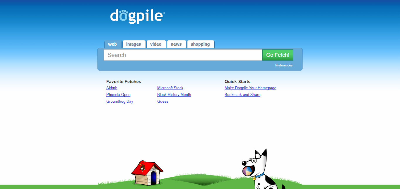 Search Engine Dogpile