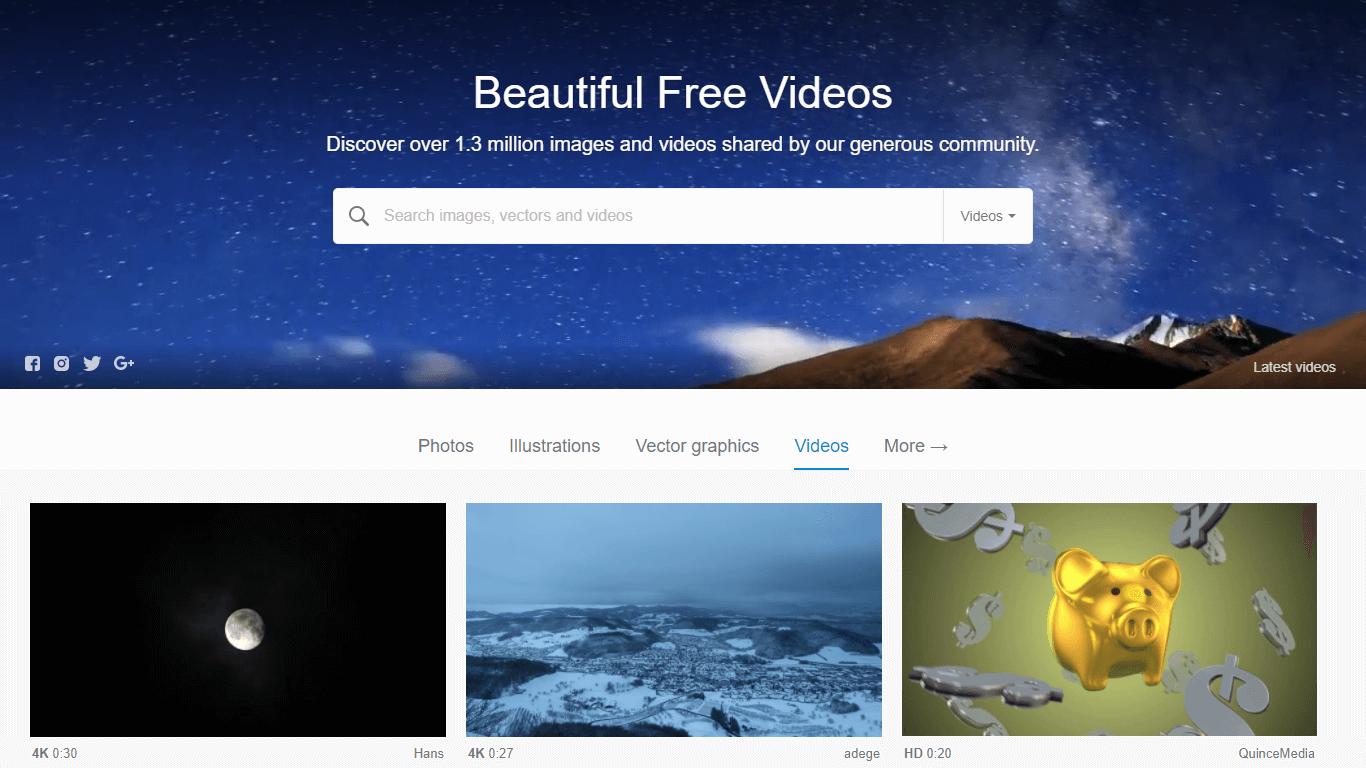 Stock footage free Pixabay