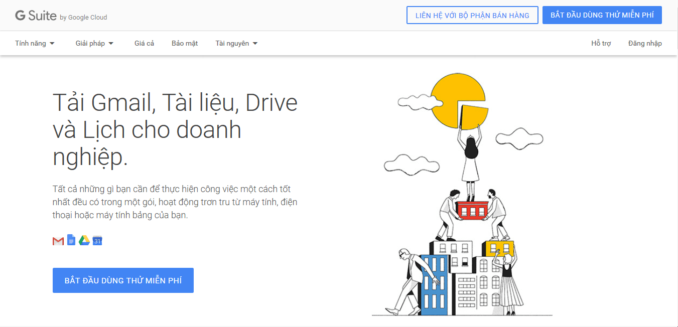 Email doanh nghiệp G Suite