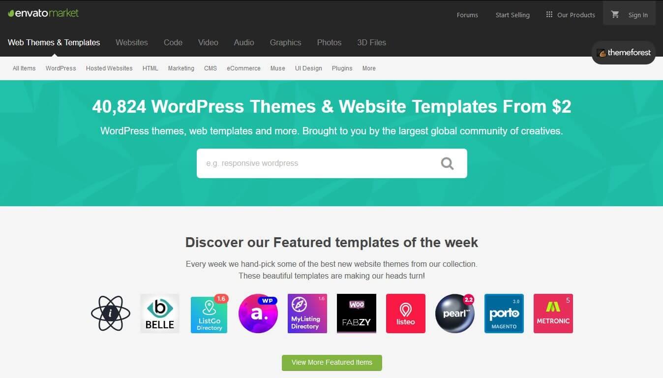 Theme dùng cho nhiều trang web