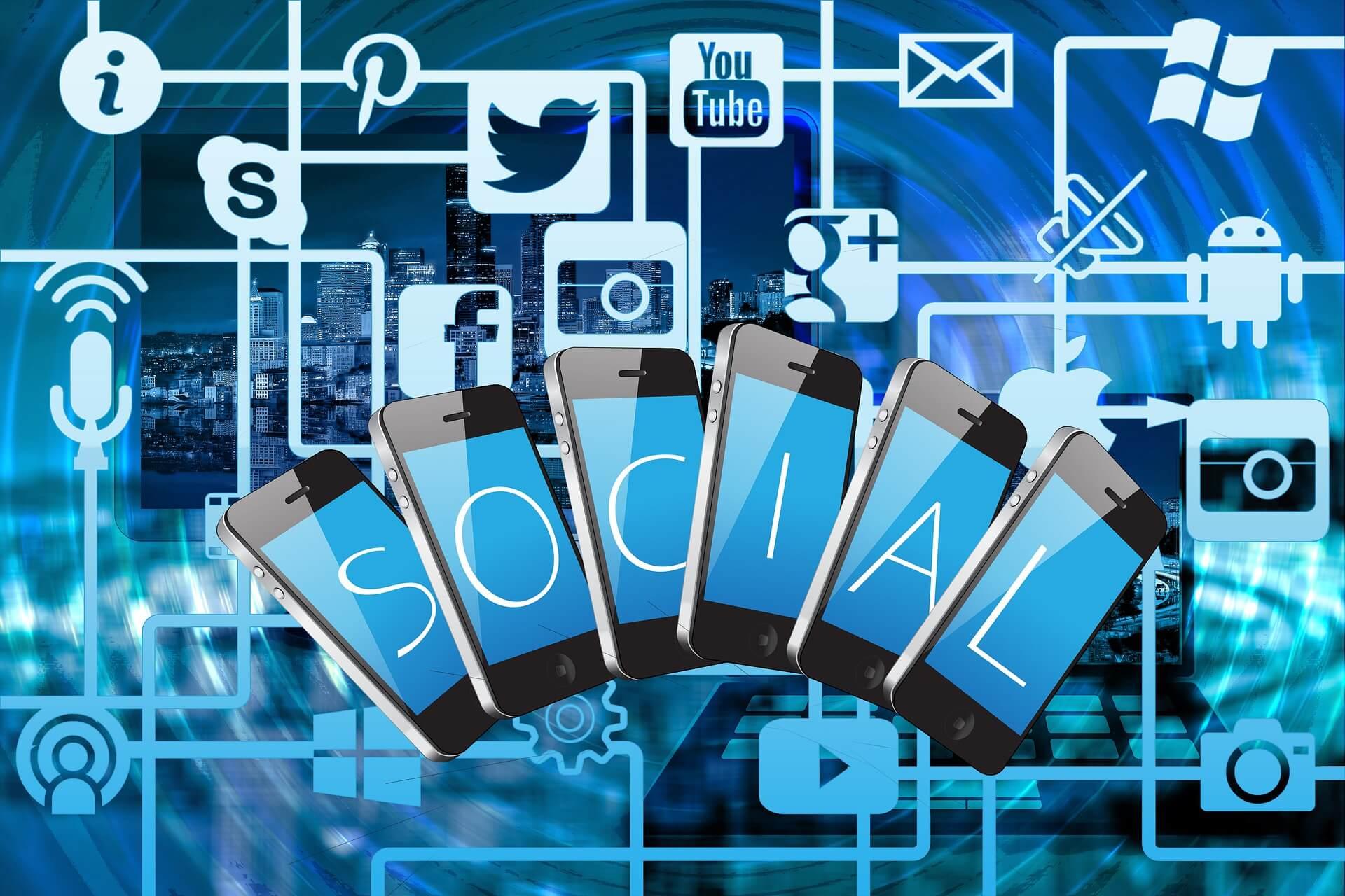 Sử dụng mạng xã hội khác để tiếp thị