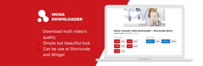 Mona Youtube Downloader - wordpress plugin