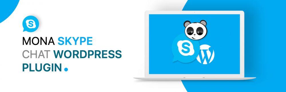 Mona Skype chat - wordpress plugin