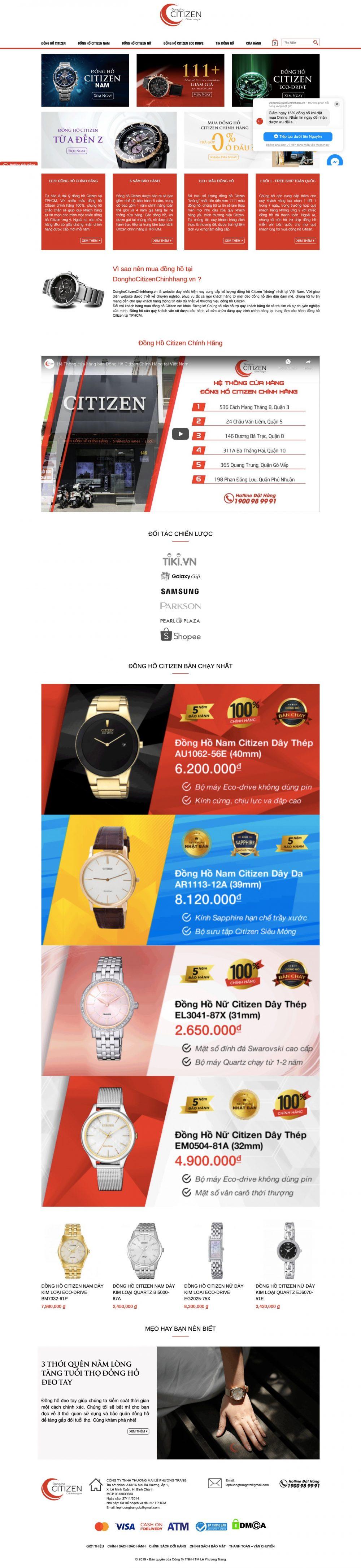 LÊ PHƯƠNG TRANG – Công ty phân phối đồng hồ chính hãng