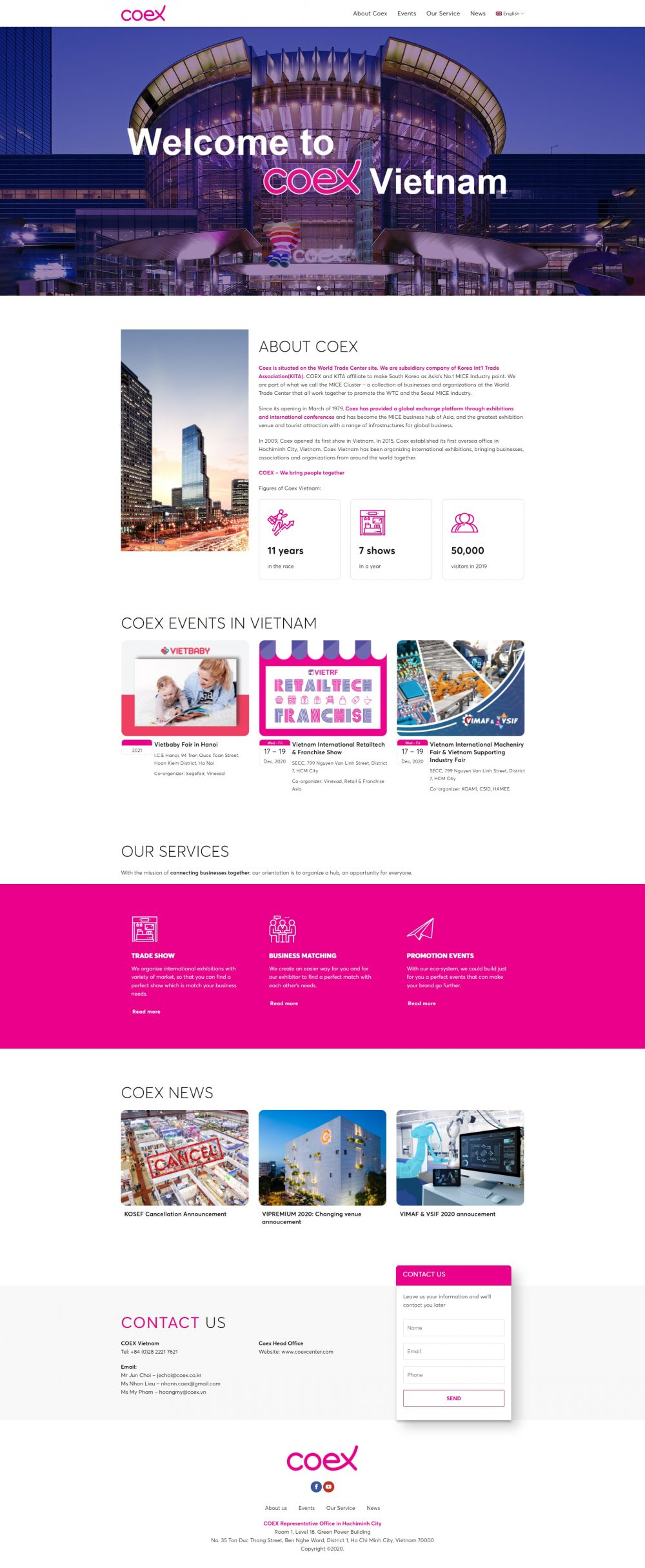 Coex – Trung tâm triển lãm