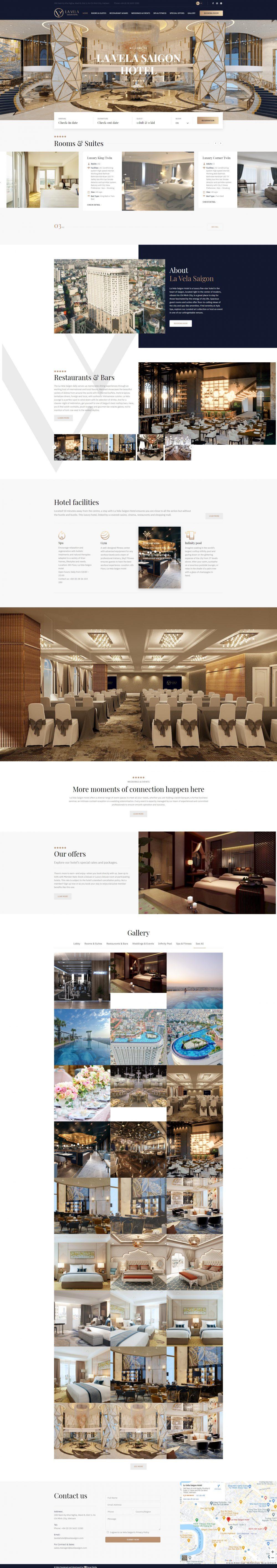 La Vela Saigon – Khách sạn 5 sao