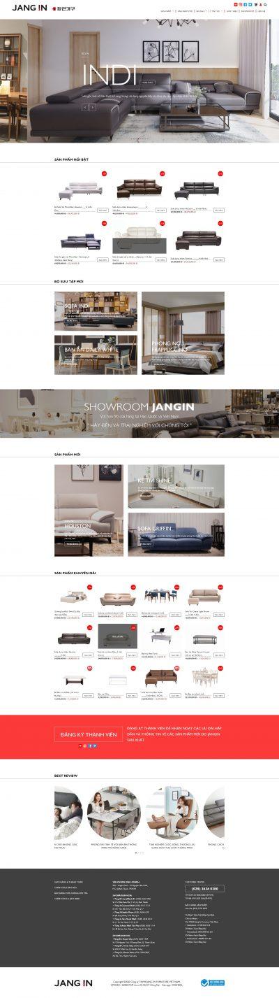 Jangin – Sản phẩm nội thất Hàn Quốc