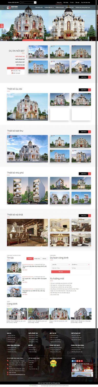 Kiến trúc Xuân Thành