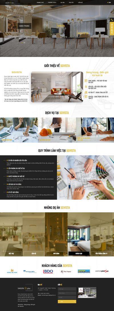 Sgvista – Thiết kế thi công nội thất