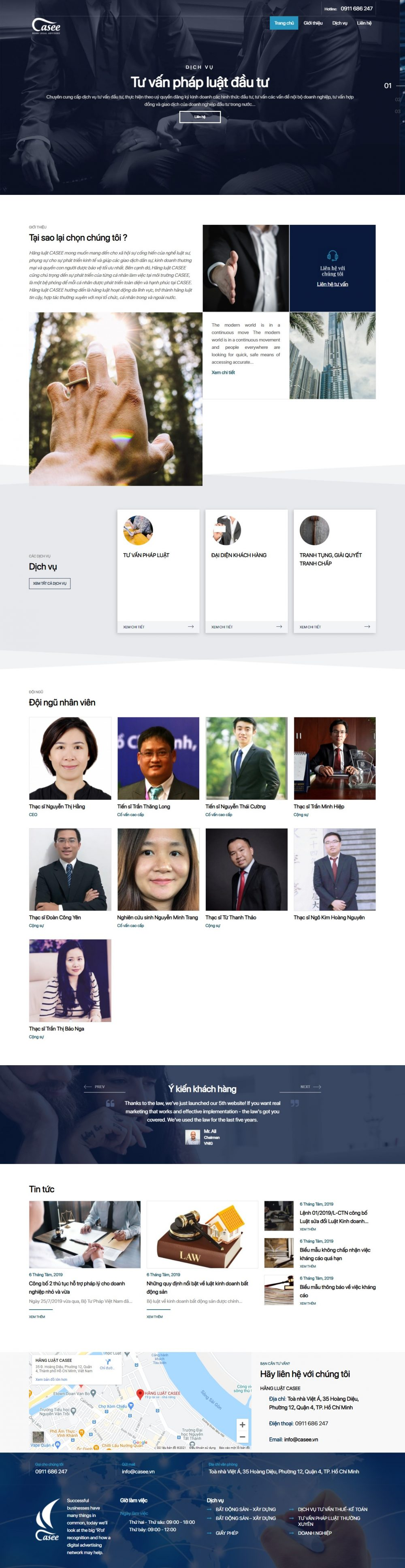 Casee – Công ty luật